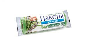 Пакеты д/мусора GRIFON Bio особопрочные 30л (50*60, 12 мкм)ПНД 20 шт в рулоне