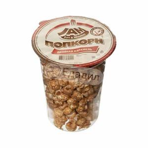 Попкорн 100 гр Двойная карамель (стакан) JAM