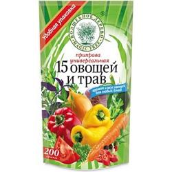 Приправа 12 овощей и трав 200г дой-пак Проксима