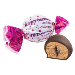 Конфеты Сладкая картошка с джемом Сладость