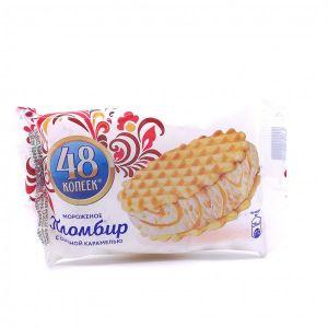 48 Копеек Пломбир Сэндвич 80гр