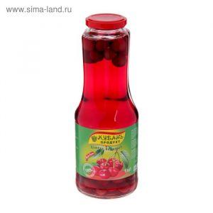 Компот Вишнёвый Кубань продукт ст б 1 л