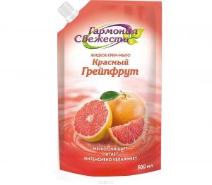 Жидкое крем-мыло Гармония Свежести 500мл Красный грейпфрут