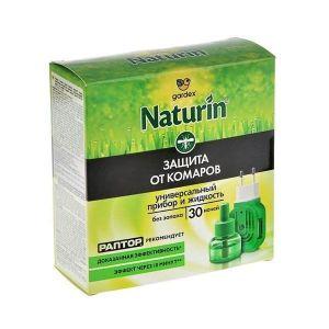 Жидкость от комаров без запаха GARDEX Naturin 30 ночей