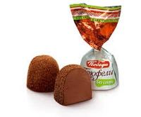 Конфеты Трюфели шоколадные посыпанные темным какао