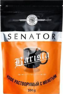Кофе Сенатор Barista 100гр пакет раств. с молот.