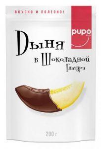 Конфеты из сухофруктов PUPO 200 гр Дыня в глазури