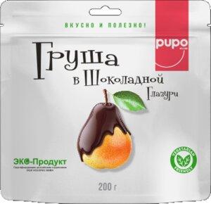 Конфеты из сухофруктов PUPO 200 гр Груша в глазури