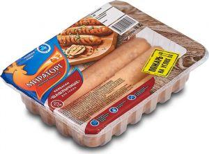 Колбаски из мяса кур для гриля Шашлычные 400гр с/м лоток Мираторг Брянский Бройлер Россия