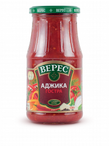 Аджика острая 530 мл с/б ВЕРЕС