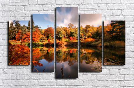 Модульная картина Пейзажи и природа 93