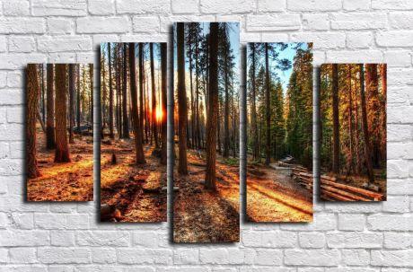 Модульная картина Пейзажи и природа 115