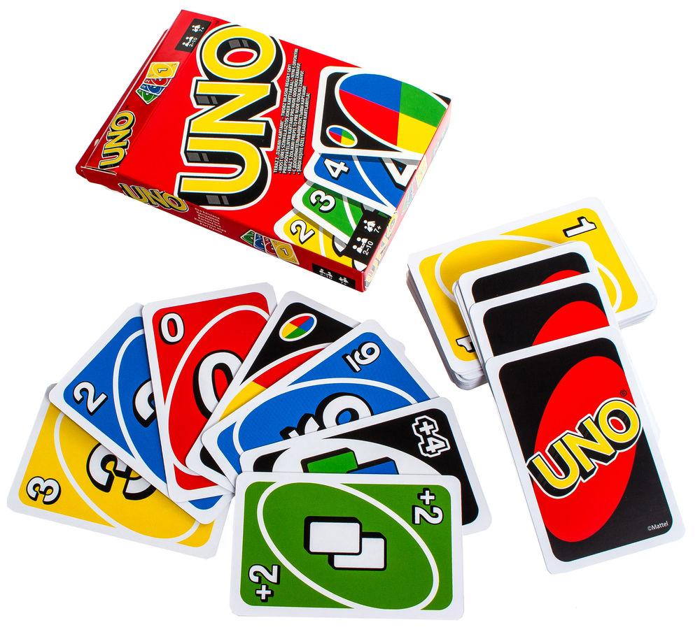 Карты для настольной игры UNO (картон)