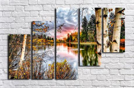 Модульная картина Пейзажи и природа 126