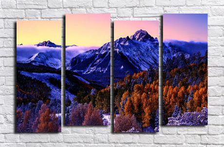 Модульная картина Пейзажи и природа 128