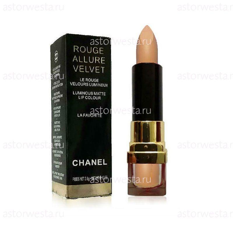 Chanel Rouge Allure Velvet Luminous Matte, губная помада, 3,5 г