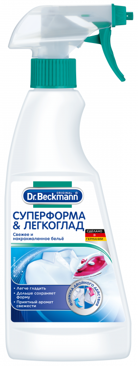 Dr. Beckmann Средство для одежды Суперформа & Легкоглад 0,5 л