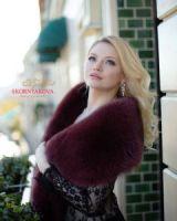 Меховой палантин купить в меховом салоне в Москве фото