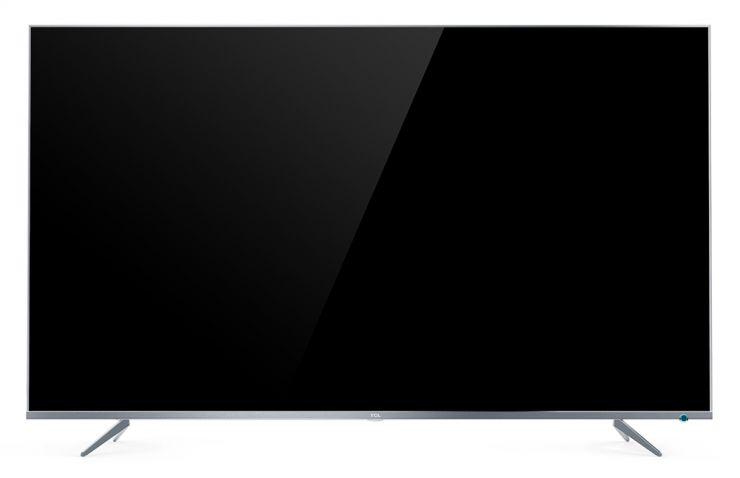 "Телевизор 55"" TCL L55P6US Серебро: SmartTV, 4K UHD, 178°/178°, DVB-T/T2/C/S/S2,"