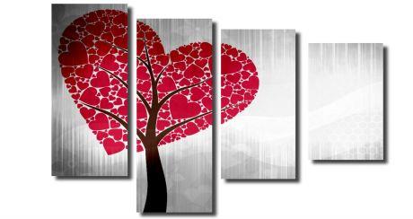 Модульная картина Сердце