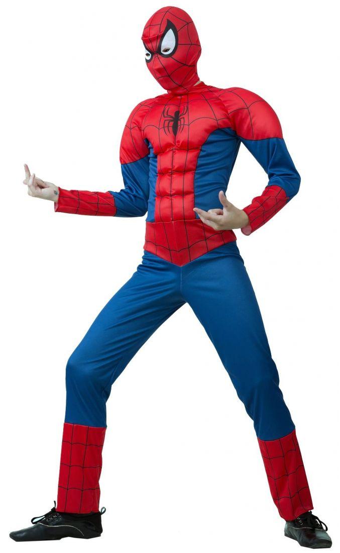 Детский костюм Спайдермена из комикса