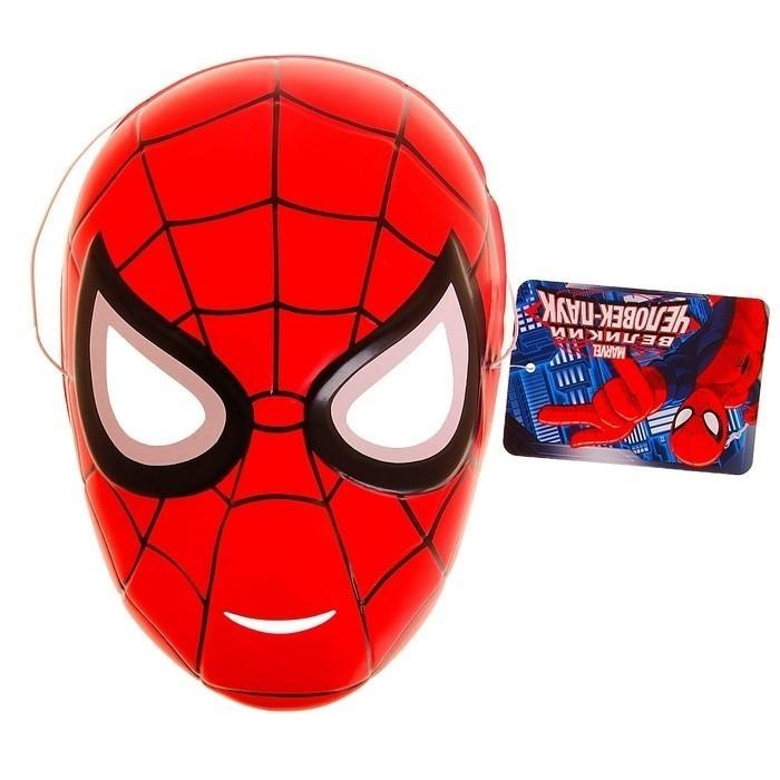 Пластиковая маска Человека-Паука