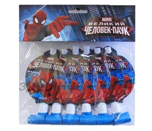 Набор язычков-гудков Человек паук