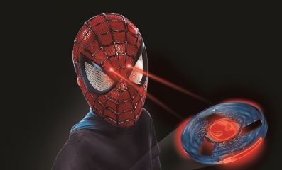 Электронная маска Человека-Паука