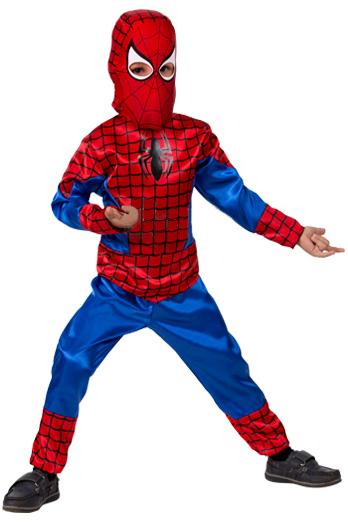 Маленький Человек-паук в маске