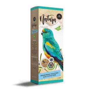 SECRET Natura Зерновые палочки для попугаев витаминно-минеральный коктейль