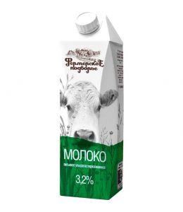 Молоко ФЕРМЕРСКОЕ ПОДВОРЬЕ 3,2% 1л