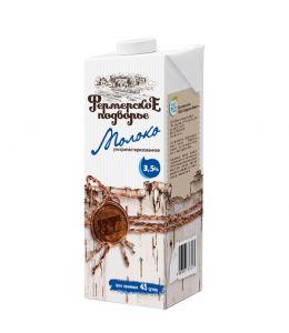 Молоко ФЕРМЕРСКОЕ ПОДВОРЬЕ Edge 3,5% 1л