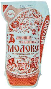 Молоко В ЛУЧШИХ ТРАДИЦИЯХ Гжель Кувшин 3,2% 900мл