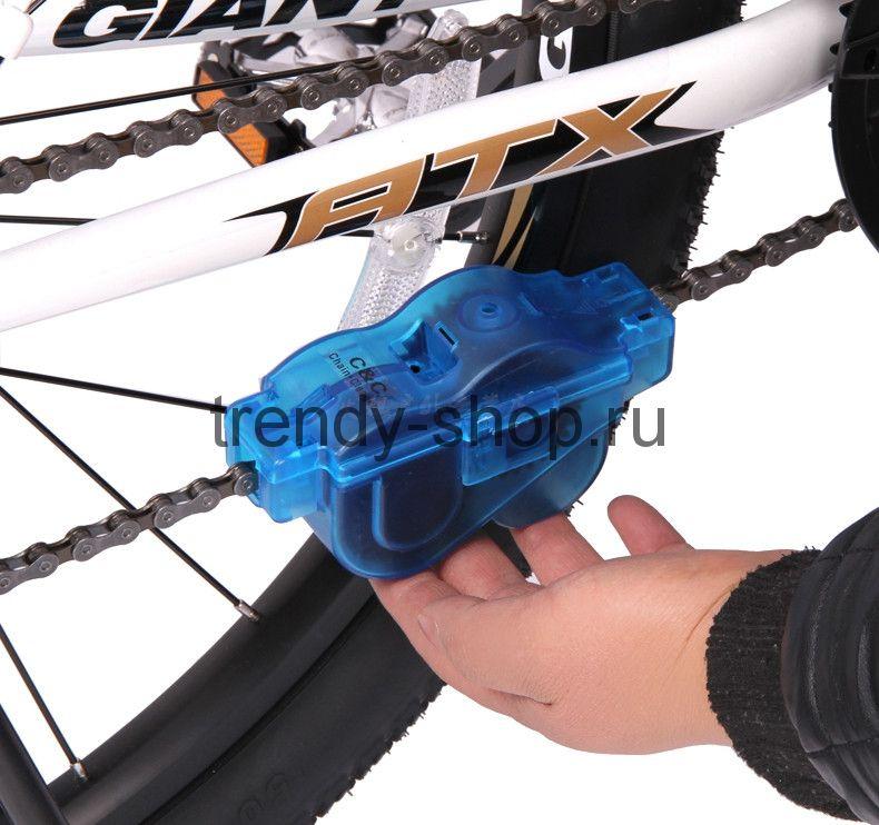 Машинка для очистки велосипедной цепи