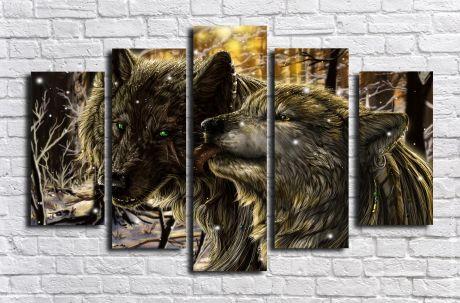 Модульная картина Животные 33