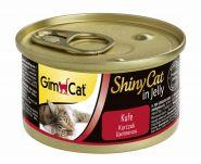 GimCat ShinyCat консервы для кошек из цыпленка 70 г