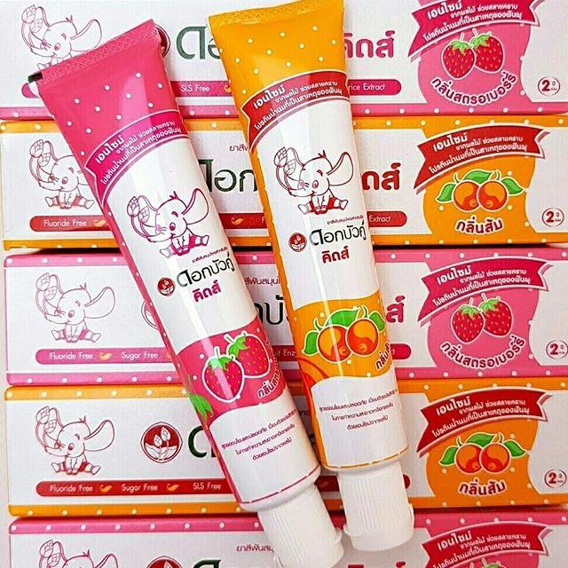 Детская зубная паста для детей от 3 лет Twin Lotus (Твин Лотус)