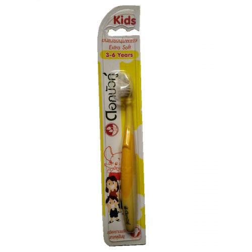 Детская зубная щетка для детей от 3 до 6 лет Twin Lotus (Твин Лотус)