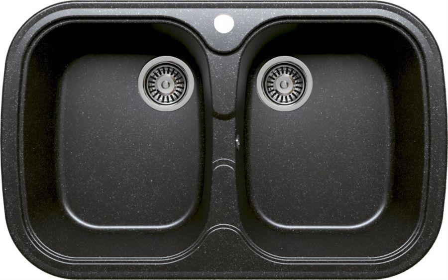 Кухонная мойка TOLERO F-150 (F-150 №16 (Черн))