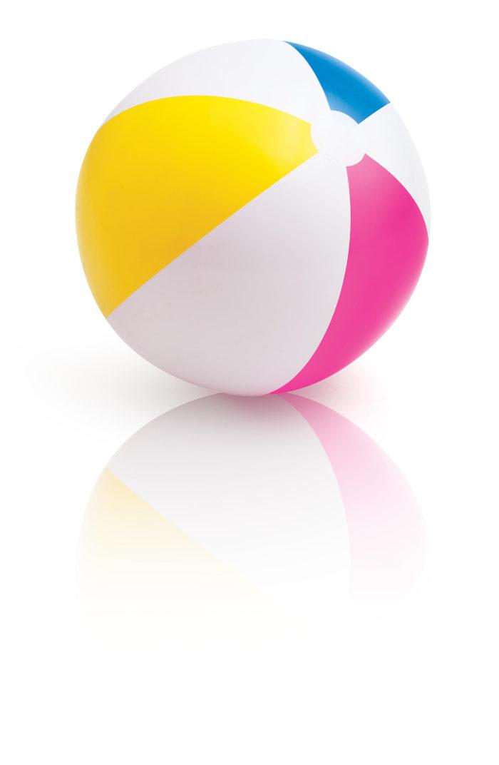 Надувной мяч, 61см