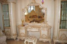 Столик туалетный КАССИОПЕЯ 3902 с зеркалом Фанбель