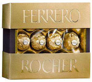 Набор конфет FERRERO ROCHER Премиум 125г
