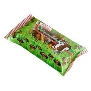 Печенье АЛЕШИНО Лесные человечки шоколадная глазурь 250г