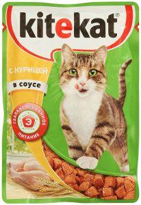 Корм для кошек KITIKАT Пауч курица в соусе 85г