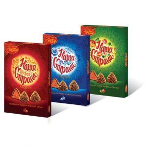 Набор конфет НАША СТРАНА Красный Октябрь 210г