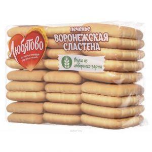 Печенье ЛЮБЯТОВО Воронежская сластена 500г