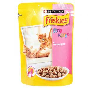 Корм для котят FRISKIES Курица 85г