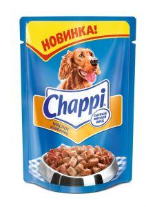 Корм для собак CHAPPI мясное изобилие пауч 100г