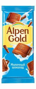 Шоколад ALPEN GOLD Молочный 90г