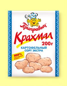 Крахмал ПРИПРАВЫЧ Картофельный 200г